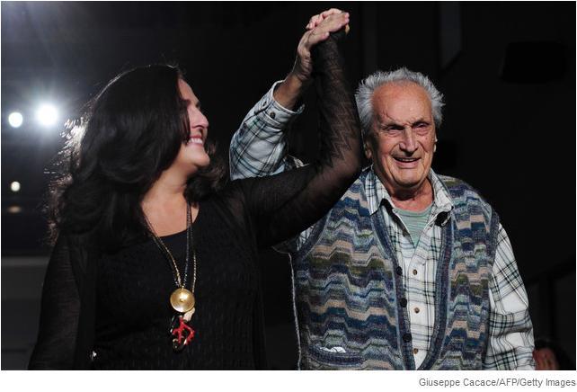 Ottavio Missoni ha fallecido el 9 de mayo 2013